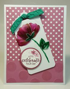 Stampin' Up! Bunch of Blossoms card designed by Edith.