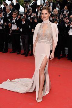 Cheryl Fernandez-Versini de Ralph & Russo Couture - Cannes 2015
