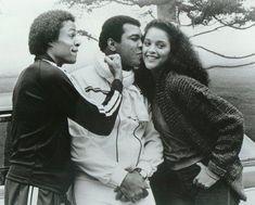 Jayne Kennedy with Muhammed Ali