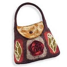 Nepalese Felted-Wool Purse
