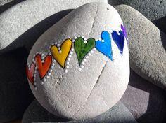 Mantenerlo Simple serie arco iris corazón por LoveFromCapeCod