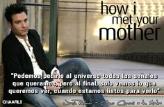 Ted Mosby, How I Met Your Mother, Key To Happiness, Himym, Words Quotes, Destiny, Tv, Books, David