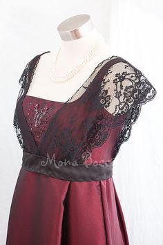 Edwardian Dress Downton Abbey handmade in England door MonaBocca