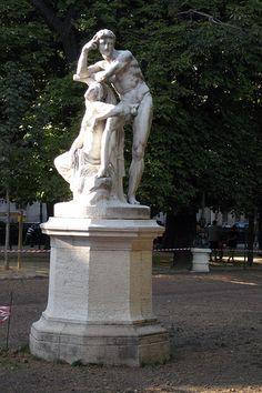 Jardin Marco Polo - Le Crépuscule.Paris 6ème