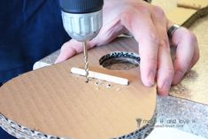 The 'MISTER Make It and Love It' Series: Cardboard Guitars – Make It and Love It