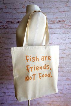 finding nemo fourre-tout, les poissons sont amis non alimentaire, sac…