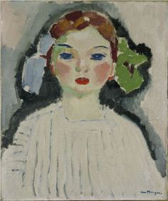 By Kees van Dongen (1877-1968), 1909, Portrait of Dolly.