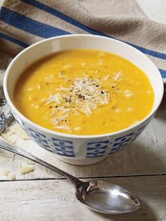 Recipes from The Nest - Winter Squash Soup