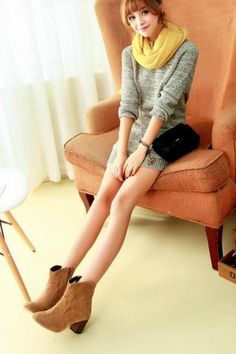 Women's Simple Pure Color Pointed Toe High Heel Short Boots With Side Zipper