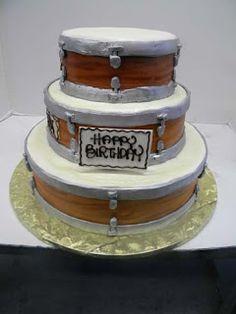 Hansen's Cakes: Drum Cake