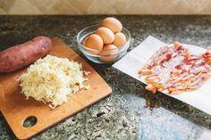 Japanese Yam Breakfast Sandwich Ingredients