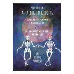 Skeletons/Halloween Theme/ Wedding Invitation #halloween #happyhalloween #halloweenparty #halloweenmakeup #halloweencostume