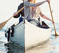 Canoeing Is A Great Workout and A Way To Get Out Stress and Anger.