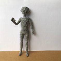 Doll body male Pattern no sew doll amigurumi doll crochet image 3 Crochet Men, Crochet World, Crochet Hooks, Half Double Crochet, Single Crochet, Dog Pattern, Doll Head, Stitch Markers, Slip Stitch