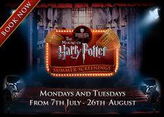 Harry Potter Summer Screenings