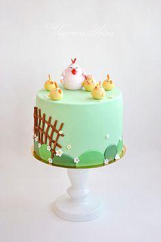 Chicks Cake