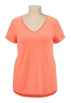 V-Neck Tee with Pocket available at #Maurices
