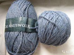 Пряжа rustical hauswolle, цвет джинс — фотография №1