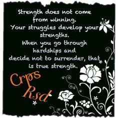 Crps/Rsd- Strength
