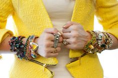 It's Friday and that means another does of #armcandy here at Sadee Says. www.sadeesays.com #accessories #bracelets