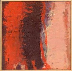 Alberto Boschi - paesaggio 1998 - olio su cartone telato cm 200 × 200