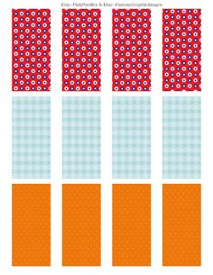 Free Candy Bar Wrapper Collage Printable Sheet