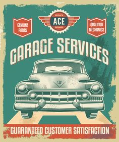 At Ace Auto We Are Ase Certified Master Mechanics Ase Stands For Automotive Service Excellence Learn Why This Car Mechanic Vintage Metal Signs Vintage Cars