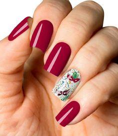 Carnaval Máscaras e Enfeites Fabulous Nails, Designed Nails, Perfect Nails, Gorgeous Nails, Work Nails, Enamels, Fingernail Designs, Binder, Nail Manicure