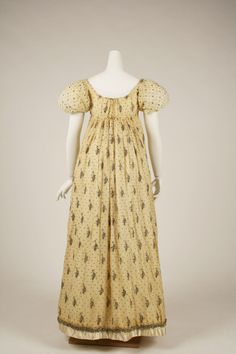 1805-10, French, cotton