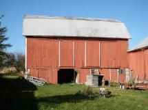 Barnyard and main barn