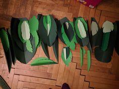 Paper leaves #jungleleaves #paperwork #papercraft Paper Leaves, Paper Flowers, Bouquet, Design, Bouquet Of Flowers, Bouquets, Floral Arrangements