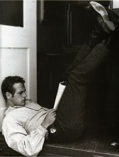Paul Newman. What's the deal with him? Most perfect man to ever exist? Yes.