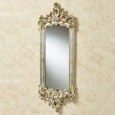 Lela Silver Gold Acanthus Wall Mirror