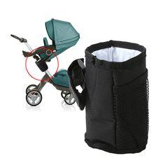 Stroller Pram Pushchair Baby Hanging Storage Organizer Cup Bottle Holder DB