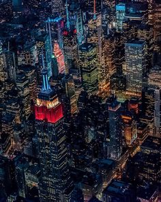 Midtown Manhattan at night by Chris Terranova - The Best Photos and Videos of New York City including the Statue of Liberty, Brooklyn Bridge, Central Park, Empire State Building, Chrysler Building and other popular New York places and attractions.