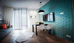 Znalezione obrazy dla zapytania cegła w mieszkaniu Mirror, Rugs, Furniture, Home Decor, Farmhouse Rugs, Interior Design, Home Interior Design, Floor Rugs, Rug