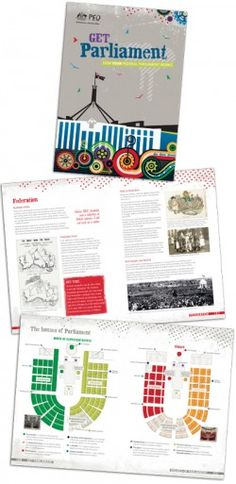 Get Parliament magazine is a FREE PDF download that helps students understand Australian politics. Comes with free activity sheets, also free videos to support learning.