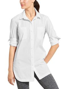 Cormfortable wear for fall weather hiking/walks. Or the long shirt can be used as a cover-up to the gym.