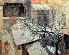 Paul Gauguin - Post Impressionism - Paris sous la neige - 1894