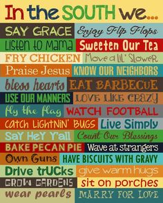 Southern Sayings. Hey Y'all. Southern Wall Art. Sweet Tea. Southern Sign. Southern Wall Decor. Bless