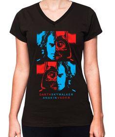 Blusa Feminina Anakin Vader - Oba! Shop - camisetas, babylooks, acessórios, música e arte