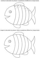 Fiches maternelle pinteres - Le petit poisson rouge maternelle ...