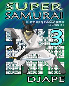 Quad SAMURAI Sudoku book!  http://www.amazon.com/dp/1518686370/?tag=thehomeofperf-20