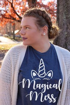 Our tees are completely customizeable! Tons of options to choose from! Personalized Shirts, Short Sleeve Tee, Crew Neck, Cricut, Monogram, Unisex, Tees, Diy, Shopping