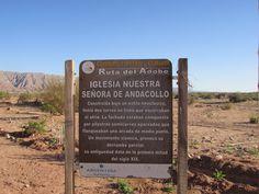 Catamarca, Ruta 60, Ruta del Adobe, Nuestra Señora de Andacollo
