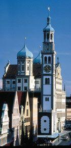 Perlachturm in Augsburg (built in the 1100's).