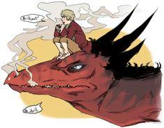Sherlock/John or Bilbo/Smaug?