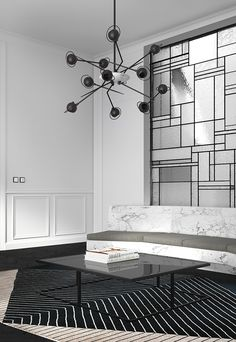 Aragó, Katty Schiebeck - Love that Silver feature wall in the back