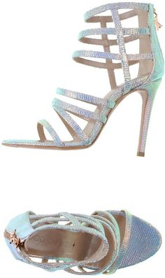 GOOD ON HEELS Sandals. The silver sparkle in these scrappy Stilleto high  heels is sexy 36433ee259