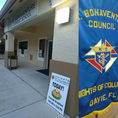 Pancake Breakfast today till noon! St. Bonaventure Church in Davie, Fl